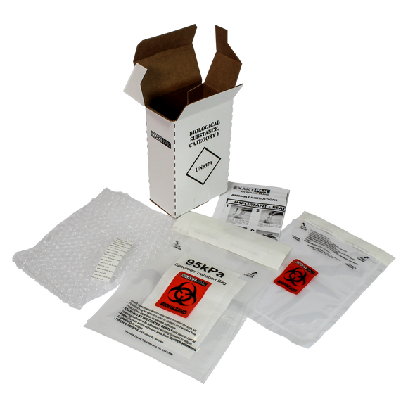 MD8051V06 - EXAKT-PAK® Category B Ambient D-Pak® Insulated Shipping Solution for Blood Tubes, Urine Tubes and Vials 10/Case
