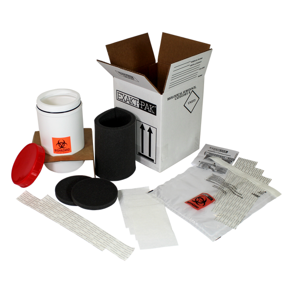MD8085S01 - EXAKT-PAK® Category B Ambient Uni-Pak® Insulated Shipping Solution for swabs up to 7 1/4