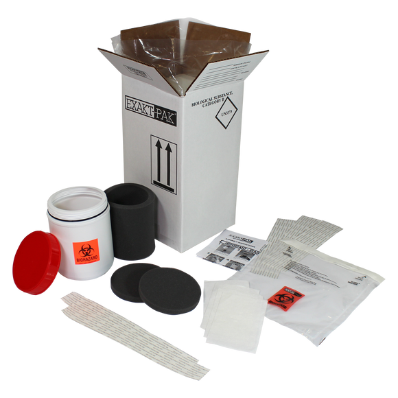 MD8200P08 - EXAKT-PAK® Category B Cool Uni-Pak® Insulated Shipping Solution for Petri Dishes