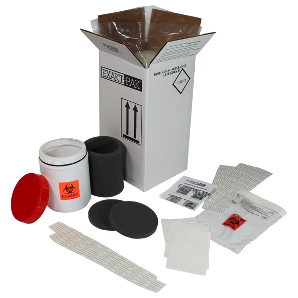 MD8200S01 - EXAKT-PAK® Category B Cool Uni-Pak™ Insulated Shipping Solution  for swabs up to 5 1/4