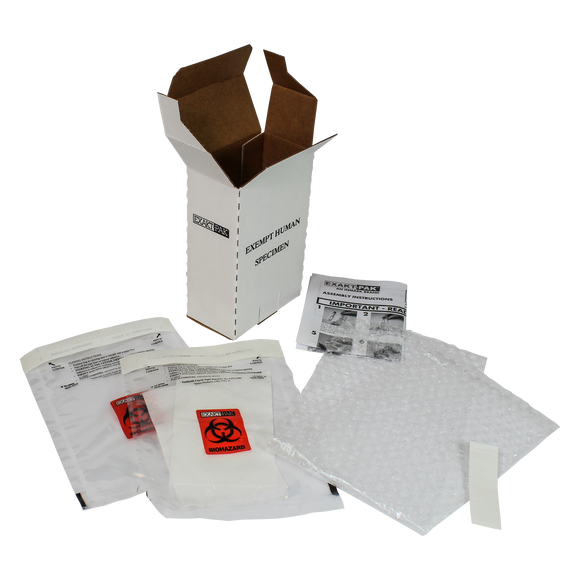 ME-H8750V06 - EXAKT-PAK™ DX-Pak™ Exempt Ambient Human Specimen Insulated Shipping Solution