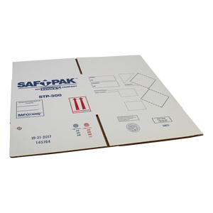 Saf-T-Pak® STP-301 - Replacement Outer Box for STP-300 with Labels and Stickers, ( UN 2814, Un 2900) 10/Case