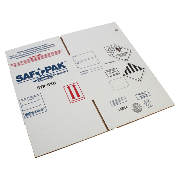 Saf-T-Pak® STP-311 - Outer Box for Saf-T-Pak® STP-310 Shipping System, ( UN2814, UN 2900 and UN1845) 10/Case