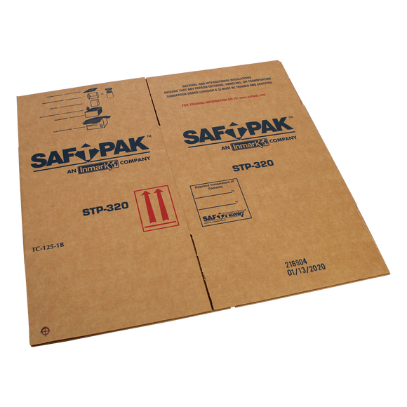 Saf-T-Pak® STP-321 - Refurbishment Outer Box for Saf-T-Pak® STP-320 Shipping System, ( UN3373 and Exempt) 10/Case