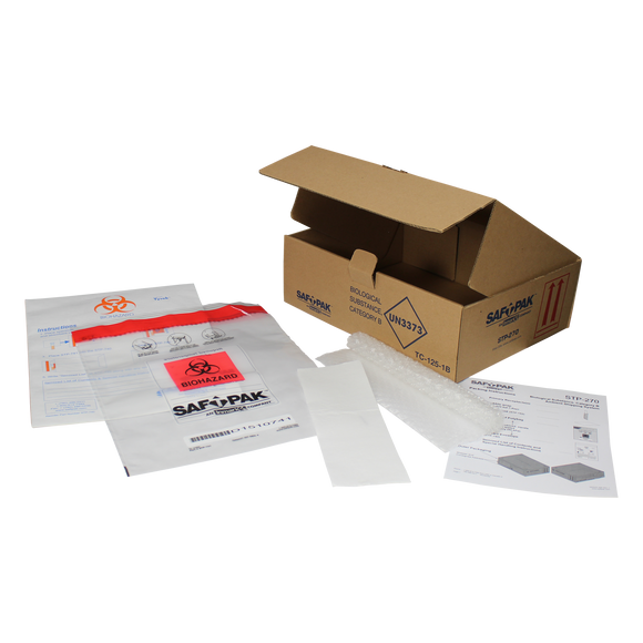 Saf-T-Pak® STP-270 - Category B Ambient Shipping System, (UN3373) 25/Case
