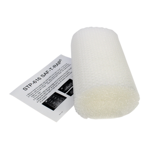 "Saf-T-Pak® STP-616 Saf-T-Rap® Perforated Bubble Wrap, No Adhesive - 12 x 12"". 20/case"