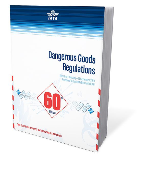 IATA Dangerous Goods Regulations 60th Ed. 2019