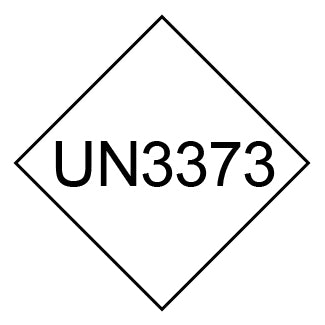 UN3373 (Diagnostic Specimens) Pressure Sensitive Labels