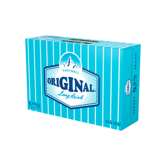 Hartwall Original Long Drink 0.330L 5.5% x 24 gb