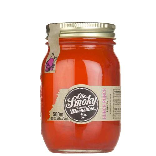 Ole Smoky Moonshine Hunch Punch Lightning 40% 0.5L