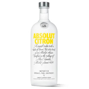 Absolut Citron 1.0L