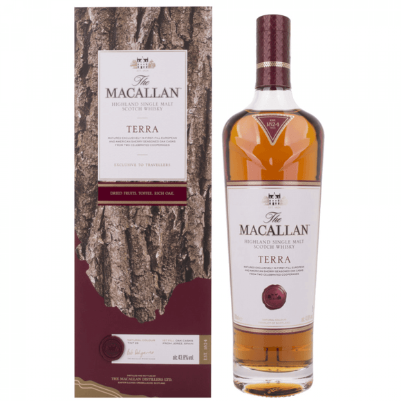 The Macallan Terra 0.7L 43.8%