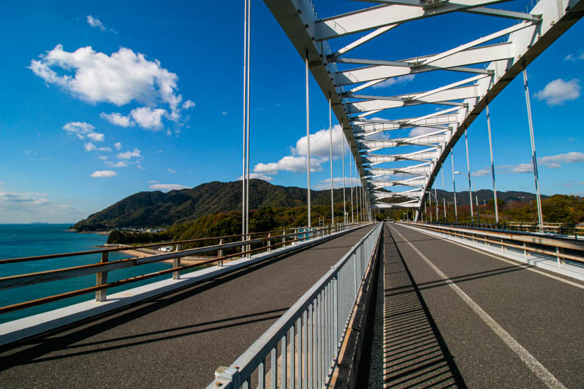 The wonderful bridges along the shimanami kaido cycling route.