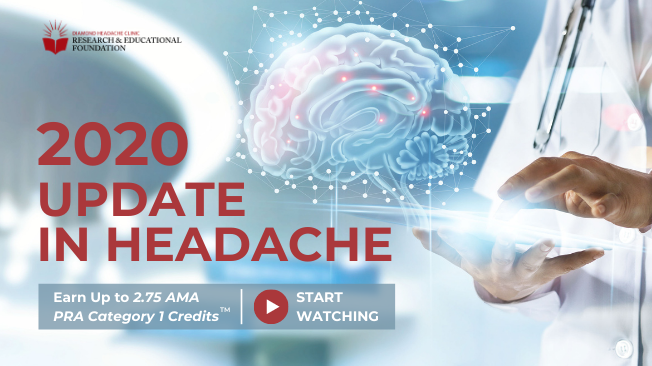 Virtual Update in Headache 2020