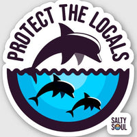 Protect the Locals - Dolphins Vinyl