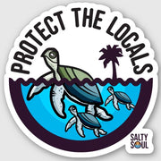 Protect the Locals - Turtle Vinyl