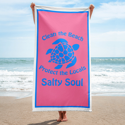 Clean the Beach Towel