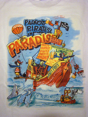 Parrot Pirates of Paradise