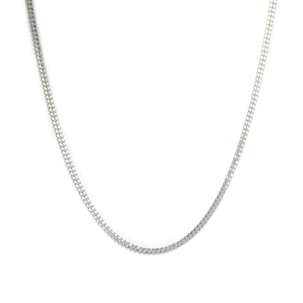SILVER CURB NECKLACE Hetariki Jewellery