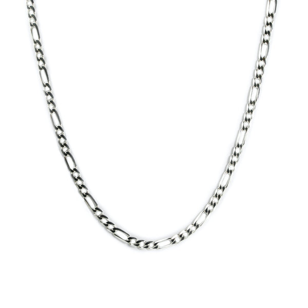 SILVER FIGARO NECKLACE Hetariki Jewellery
