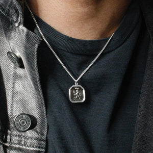 THE LION TALISMAN NECKLACE Lion Necklace Hetariki Jewellery