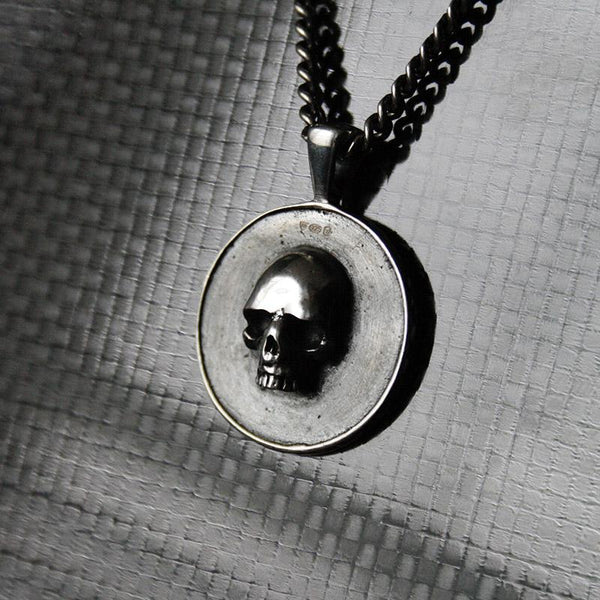 THE SKULL MEDALLION Hetariki Jewellery