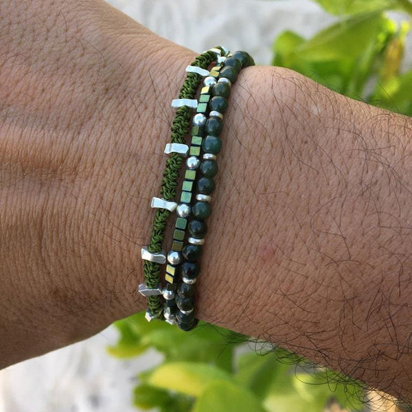 THE TRIPLE WRAP BRACELET Hetariki Jewellery