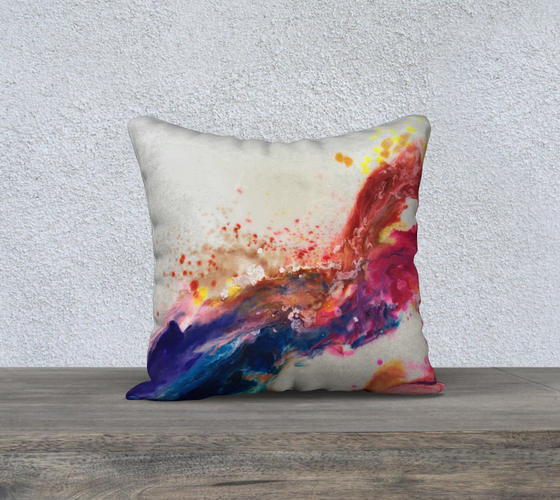 Splash - 18 X 18 pillow
