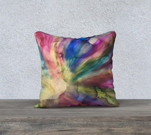 Floating - 18 X 18 pillow