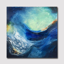 "Load image into Gallery viewer, Dancing Tide  60"" X 60"" - SOLD"