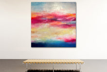 "Load image into Gallery viewer, Last Kiss Before Dark 60"" X 60"""