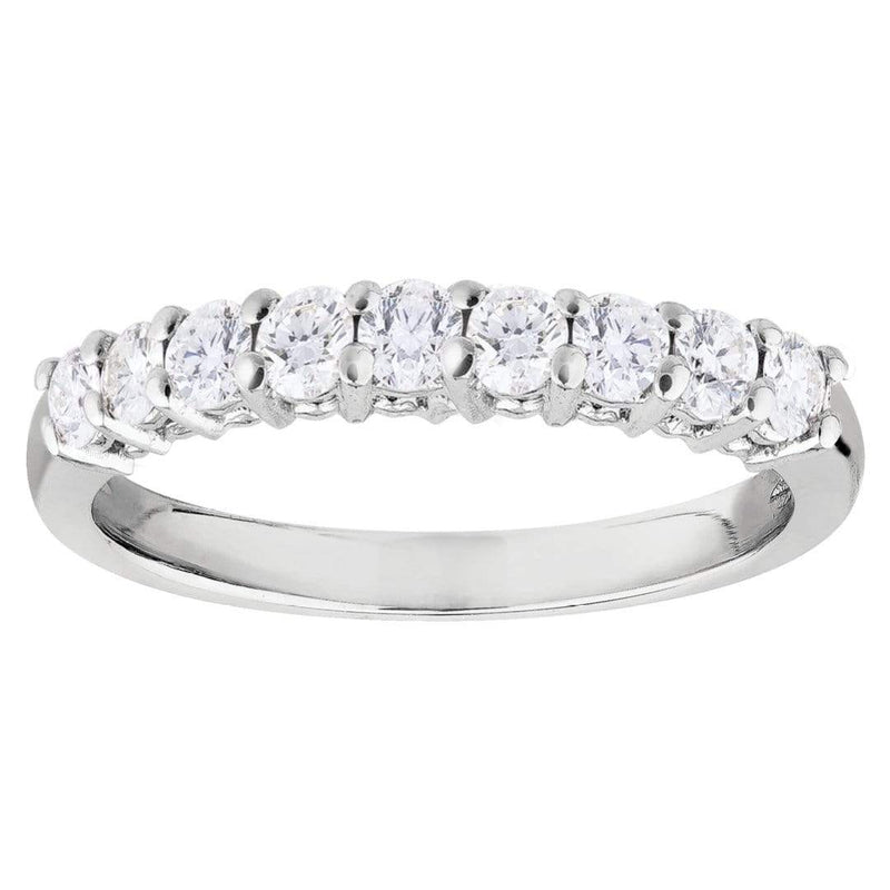 0.34ct Diamond Eternity Band in 18ct White Gold Eternity Rings
