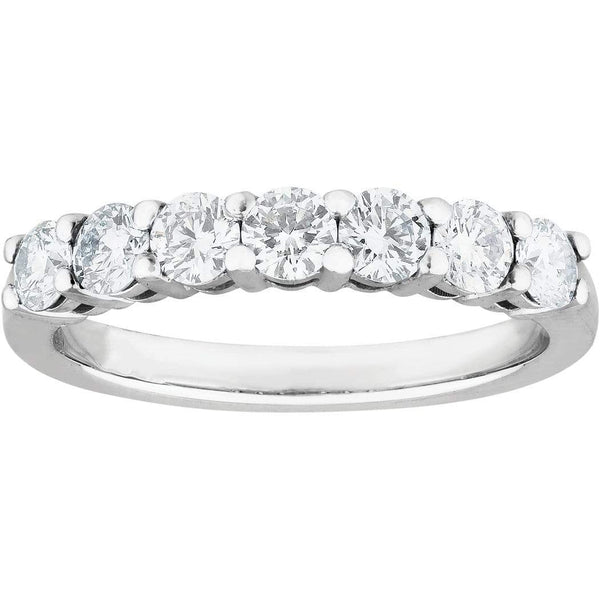775a16749ad277 0.50ct Diamond Eternity Ring in 18ct White Gold Eternity Rings