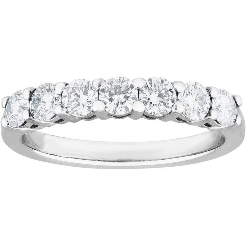0.71ct Diamond Eternity Ring in 18ct White Gold Eternity Rings