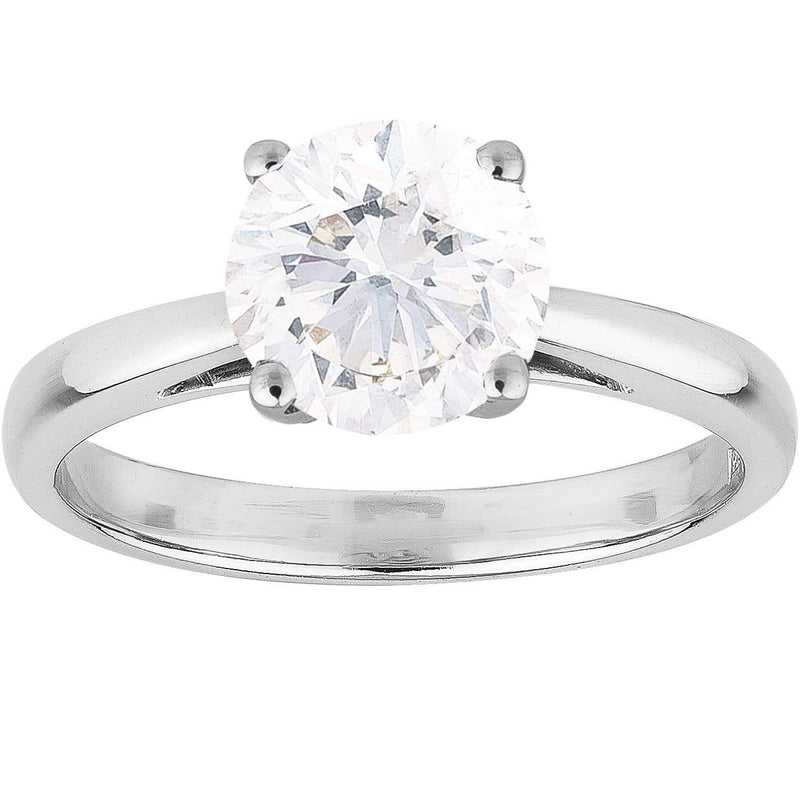 1.01ct Diamond Solitaire Ring in 18ct White Gold Solitaire Rings