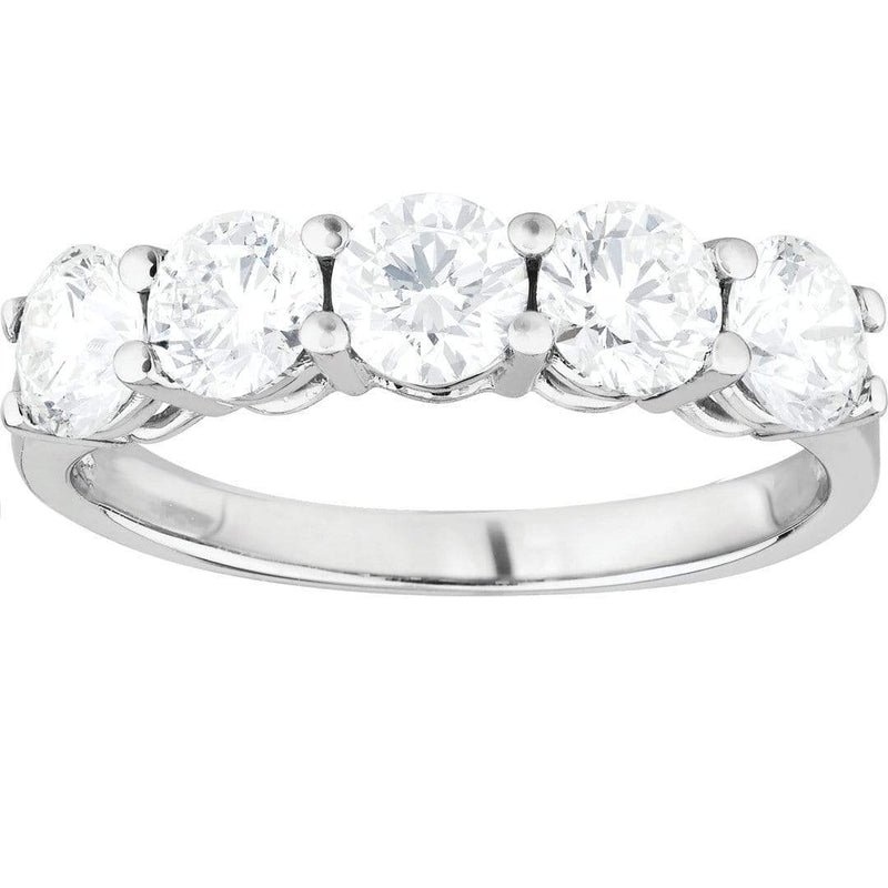 1.50ct Diamond Eternity Ring in 18ct White Gold