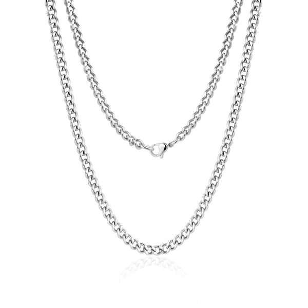 5mm Cuban Link Necklace 60cm