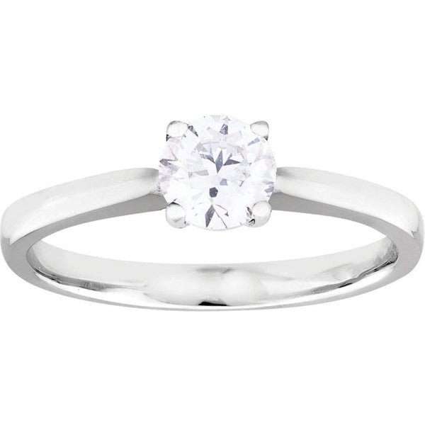 Copy of 0.23ct Diamond Solitaire Ring in 9ct Yellow or White Gold Solitaire Rings