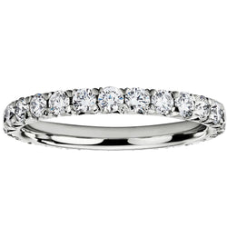 1.00ct Diamond Full Eternity Ring in 18ct White Gold