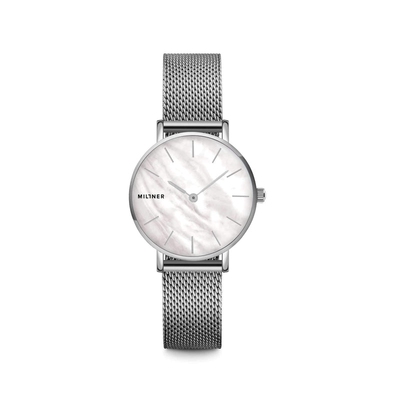 Millner Mini Silver Pearl Ladies Watches