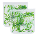 Full Circle Palm Leaves Sandwich Bags 2-Count
