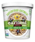 Earnest Eats Superfood Vegan Oatmeal Cups 6-Pack