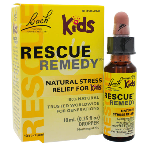 Bach Flower Remedies Rescue Remedy Kids