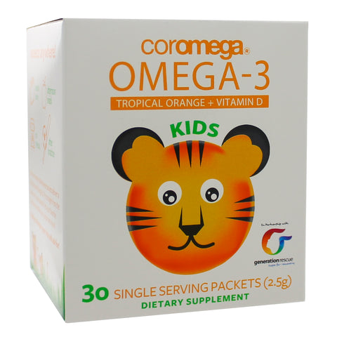 Coromega Omega-3 Squeeze Kids Orange