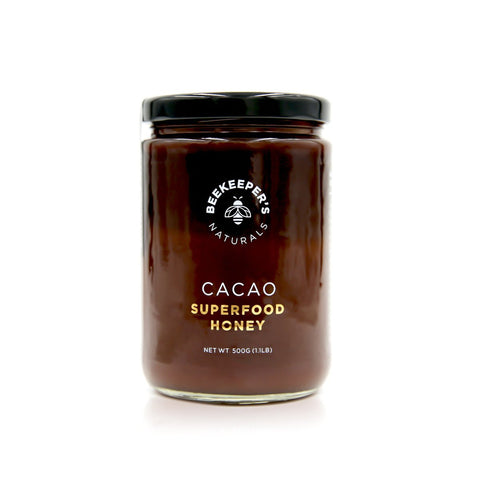 Beekeeper's Naturals Superfood Cacao Honey