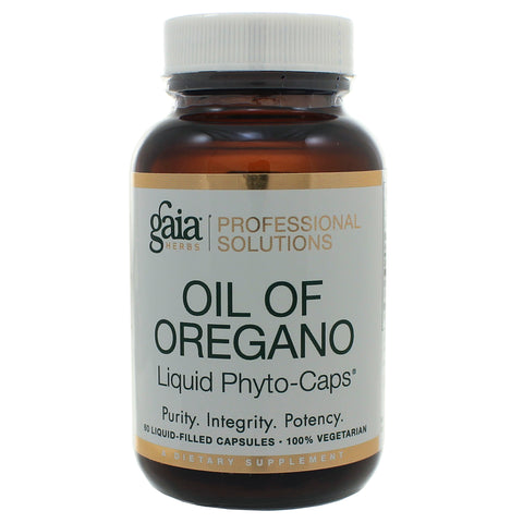 Gaia Herbs Oil of Oregano Capsules