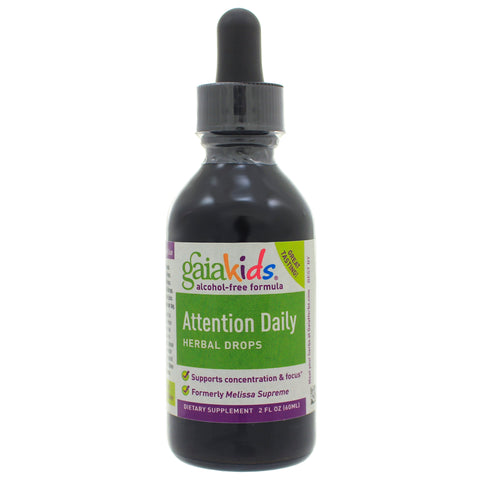 Gaia Herbs Attention Daily Herbal Drops (Gaia Kids)
