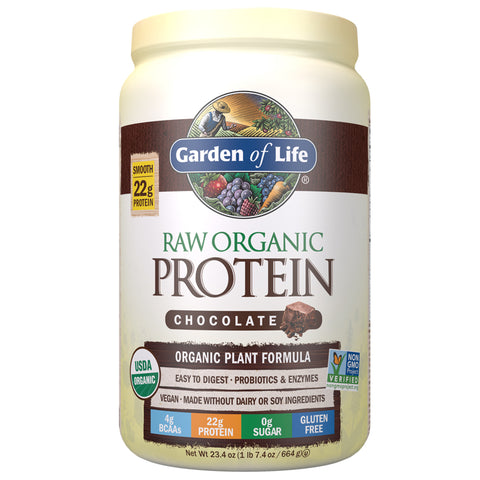 Garden of Life RAW Organic Protein - Real Raw Chocolate