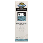 Garden of Life Dr. Formulated CBD Plus Stress 15mg Drops