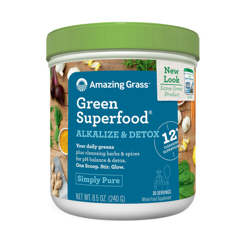 Amazing Grass Alkalize Detox Green Superfood